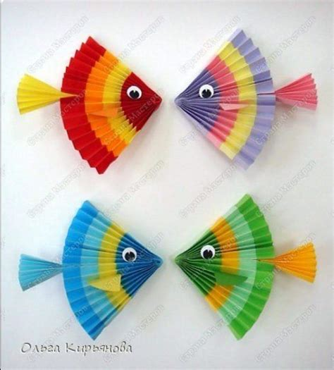 Simple Paper Folding Crafts - paper craft for with folding paper my