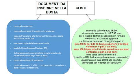 documenti per permesso di soggiorno per motivi familiari emejing permessi di soggiorno per lavoro photos idee