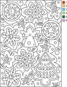 coloring by number s free coloring pages color by number
