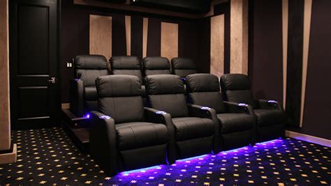 complete home theater decor packages seating