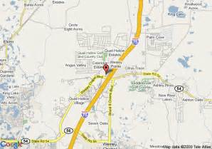 map of sleep inn wesley chapel zephyrhills