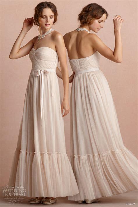 Wedding Bridesmaid Dresses by Bhldn Bridal Gowns And Bridesmaid Dresses Wedding Inspirasi