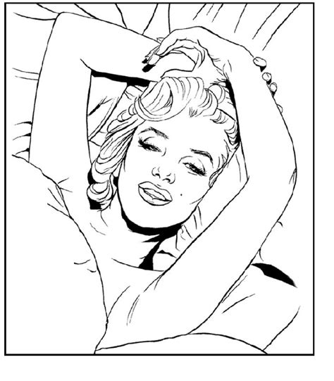 marylin monroe coloring page coloring pages drawings marilyn monroe line drawing coloring coloring pages