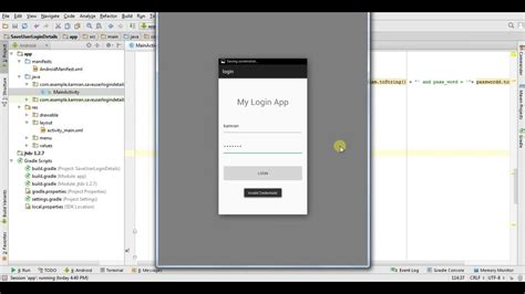 android studio jdbc tutorial android login application with mssql server using jdbc