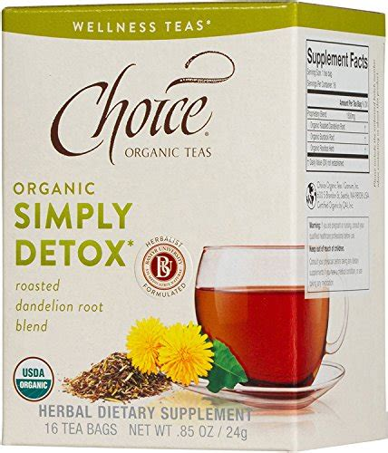 Http Www Homemadedrugtest Detox Diet by Choice Organic Teas Simply Detox Review