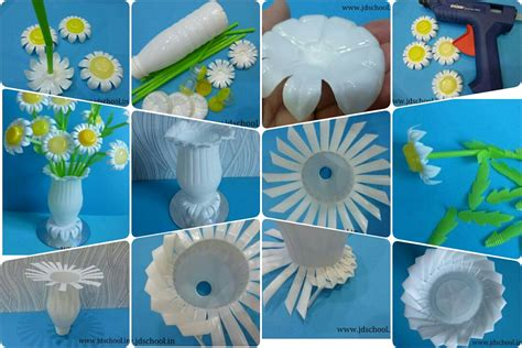 How To Make Waste Paper Flowers - make a beautiful flower pot from waste plastic bottle