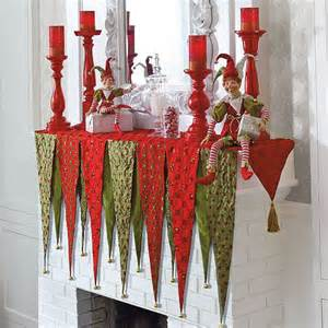 mantel scarf that is kid color friendly mantel scarf
