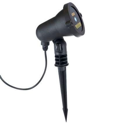 Qvc Outdoor Lighting Blisslights Outdoor Indoor Firefly Light Projector With Timer H203173 Qvc