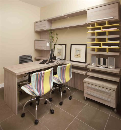 home office furniture layout desk size
