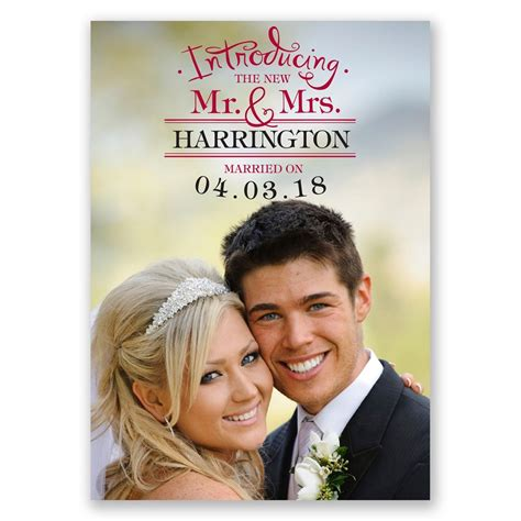 Wedding Announcement Cards by Introducing Wedding Announcement Invitations By