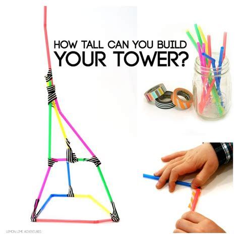how to challenge a will building with straws simple engineering challenge for
