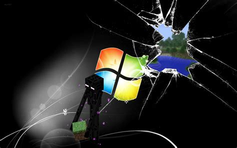 imagenes de minecraft windows 10 enderman minecraft windows wallpaper wallpapers gratis