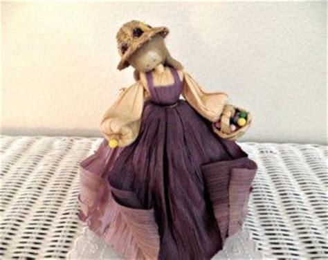 corn husk dolls by nan 44 best paper twist crafts images on