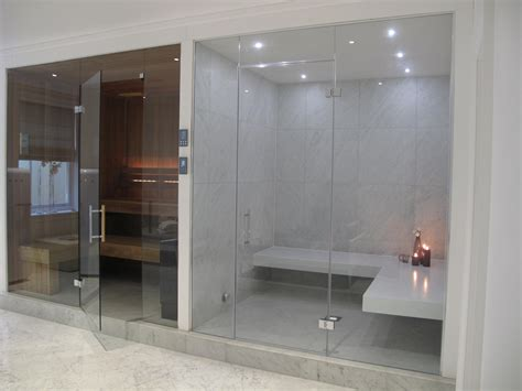 steam room benches this stylish steam room has white corian benches and large