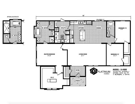 home design rx the washington x 4000 platinum homes