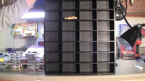 hot wheels display case  michaels craft store shadow