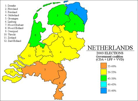 netherlands map and surrounding countries psephos adam carr s election archive