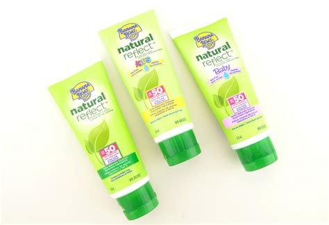 banana boat sensitive ingredients banana boat sunscreen collection review