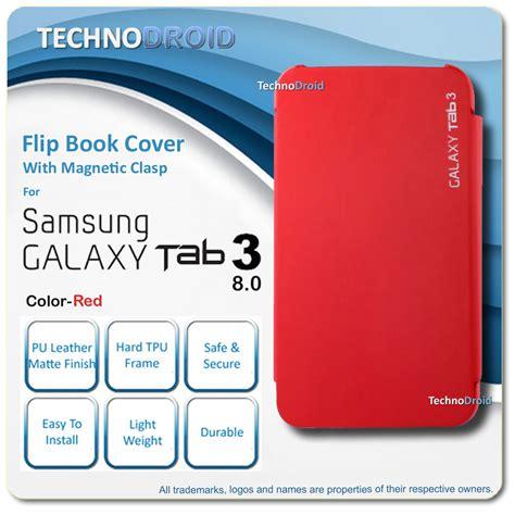 Flip Cover Samsung Tab 3 8 Inch buy flip book cover for samsung galaxy tab 3 8 0 sm