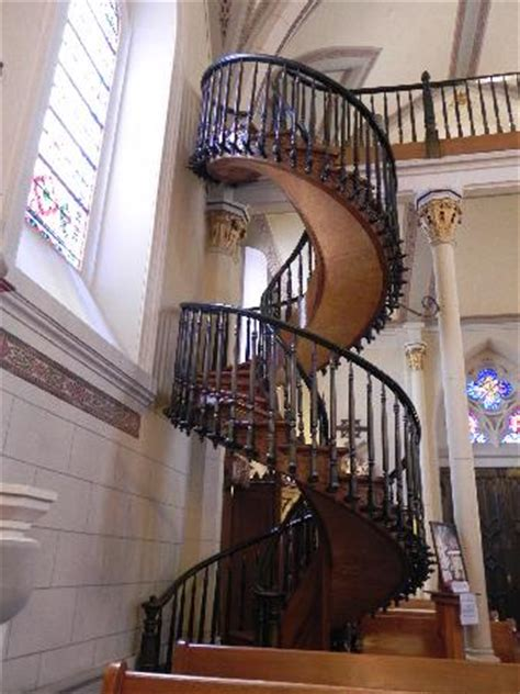 famous stairs history of the church picture of loretto chapel santa