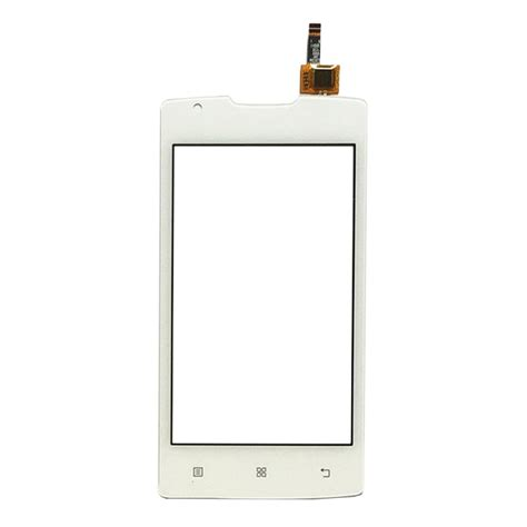 Lenovo A1000 4 Inch replacement lenovo a1000 4 inch touch screen digitizer assembly white alex nld