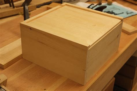 How To Make A Tool Box Out Of Paper - how to make a wooden box with sliding lid