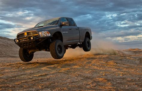 dodge ram runner duel in the desert ford svt raptor vs mopar ram runner