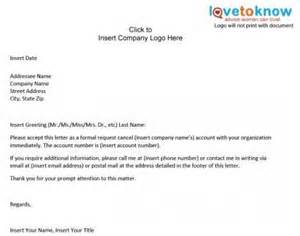Cancelling Ein Letter Professionelle Brief Proben Qrealm Com