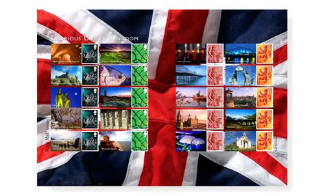 Royal Mail Finder Royal Mail Glorious United Kingdom Smiler Sheet By Neon