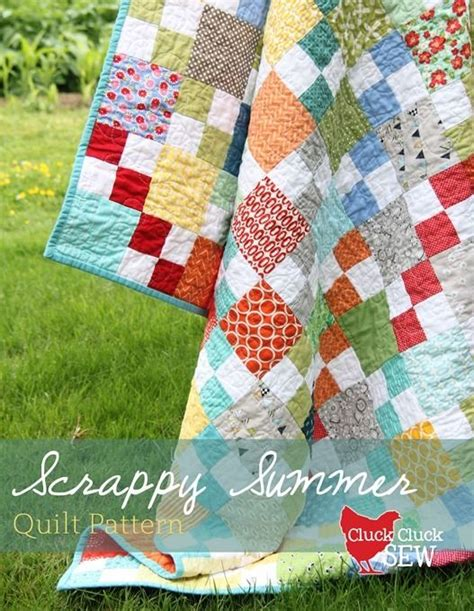 Easy Patchwork Quilt Patterns Free by 17 Best Ideas About Scrap Quilt Patterns On