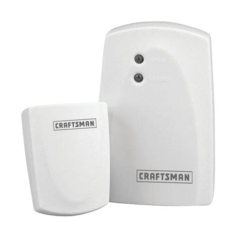 Wifi Garage Door Sensor Craftsman Wireless Garage Door Monitor