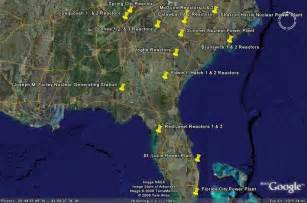 nuclear power plants in florida map nuclear reactors in florida images