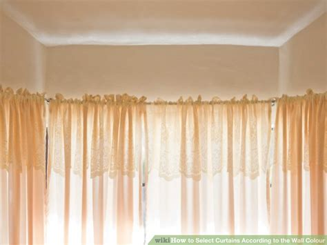 select curtains how to select curtains according to the wall colour 8 steps