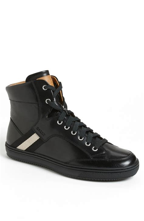 mens bally sneakers bally oldani sneaker in black for lyst