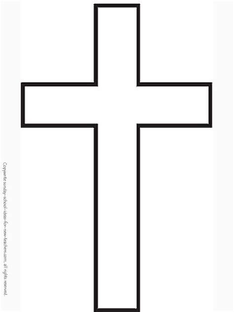 printable coloring pages crosses sunday school coloring pages roman cross template