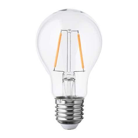 Ikea Led Light Bulb Lunnom Led Bulb E26 100 Lumen Ikea