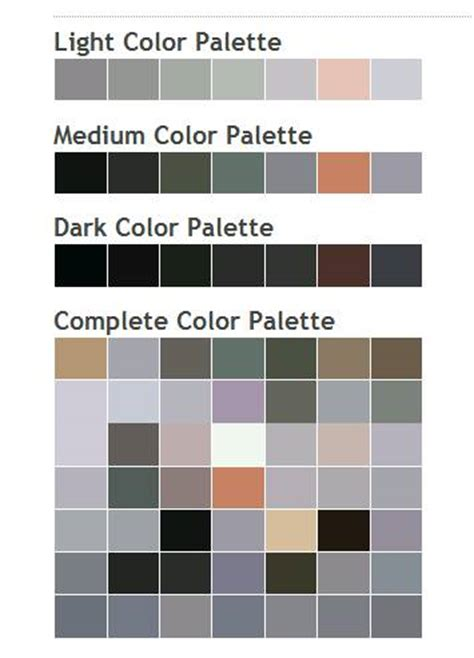 paint color scheme generator my french easel an artist s use of online colour palette