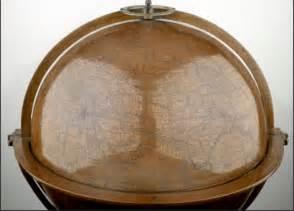Lithograph facsimile of the ulpius globe western hemisphere 1542