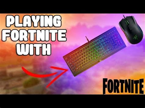 fortnite keyboard and mouse xbox using a keyboard and mouse on fortnite battle royale