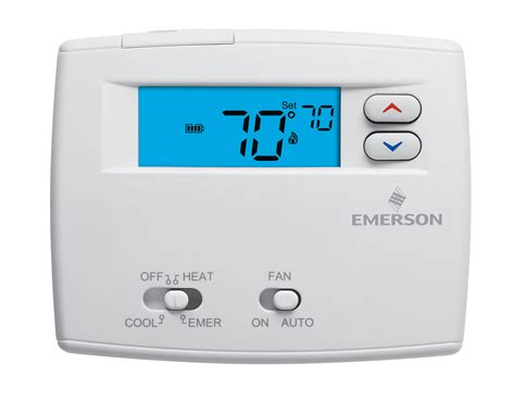 house thermostat white rodgers non programmable universal thermostats