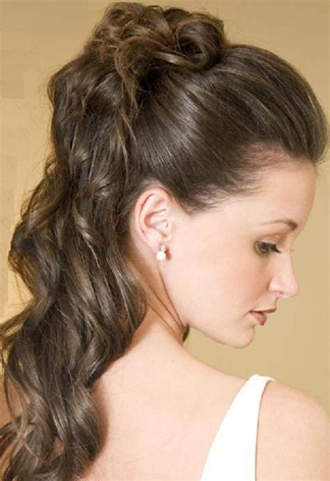 casual hairstyles for very long hair romantic updos for long curly hair