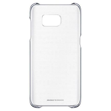 Hardcase Samsung Clear Cover S7 official samsung galaxy s7 edge clear cover black