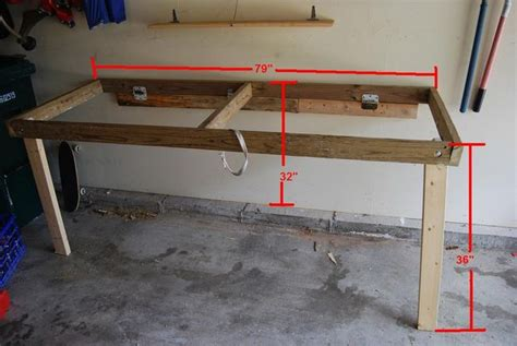 fold down work bench folddown workbench