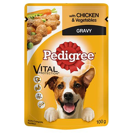 8 Reasons To Choose A Non Pedigree Pet by Pedigree Pouch With Chicken And Veg In Gravy Pedigree