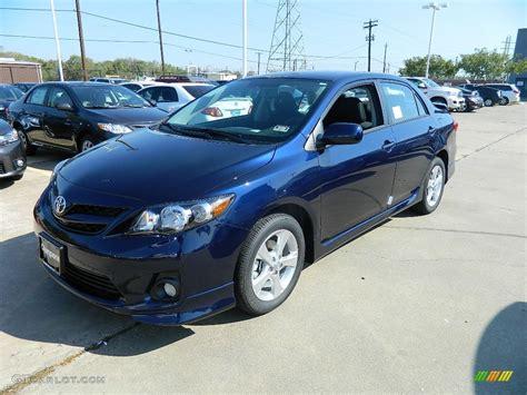 Blue Toyota Corolla 2011 Nautical Blue Metallic Toyota Corolla S 57874533
