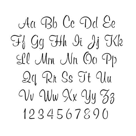 printable letter stencils script stencils alphabet stencils script lettering stencils