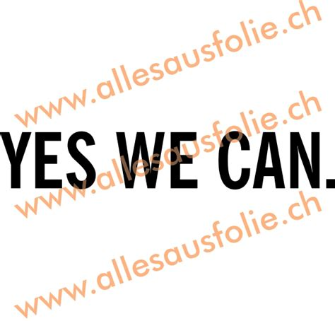 Bargain Shopping Yes I Can Do That by Yes We Can 3 Allesausfolie Ch