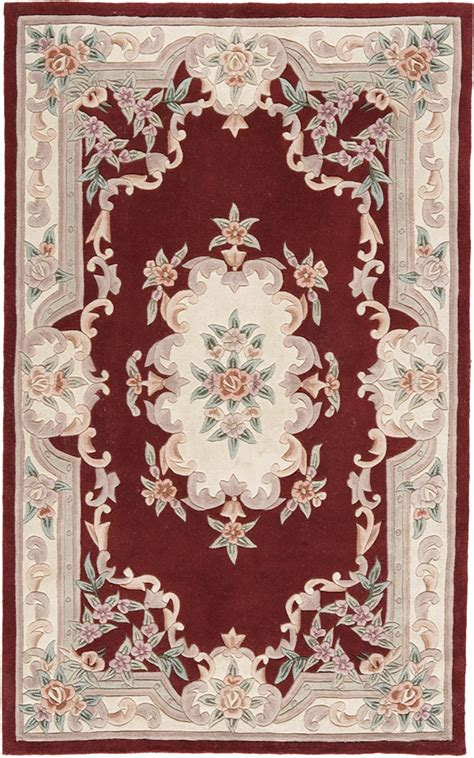 new aubusson rugs rugs america new aubusson 510 379 burgundy
