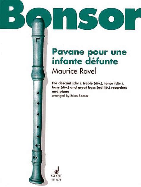 0001151967 pavane pour une infante defunte pavane pour une infante defunte sheet music by maurice