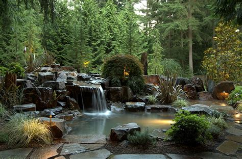 rock swimming pool pond waterfalls waterfall natural swimming pools design ideas inspirations photos